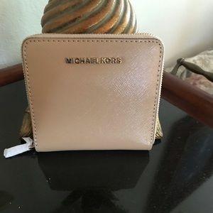 Michael Kors Jet Set Leather Card Case